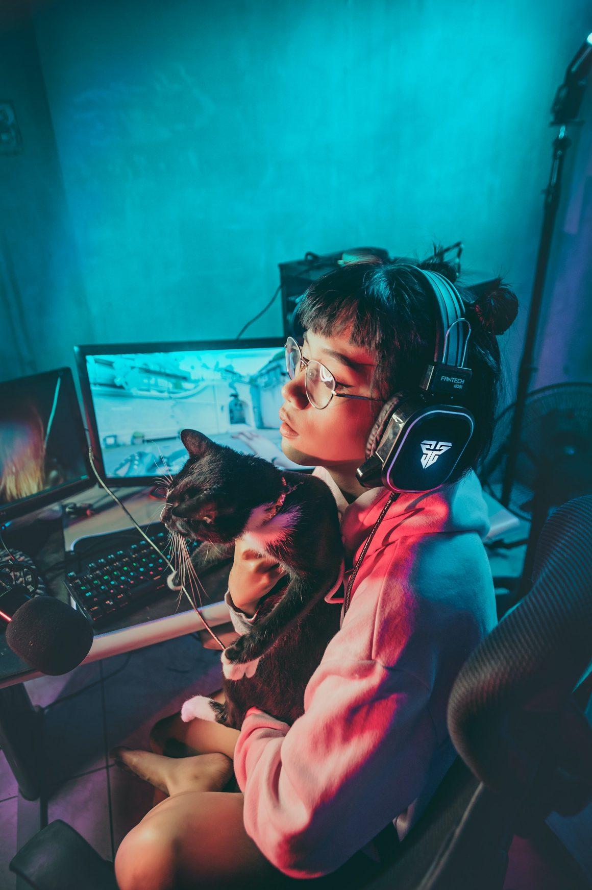 set up gamer