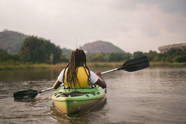 kayak deporte verano